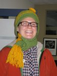 blc staff would love to keep the hat and scarf!