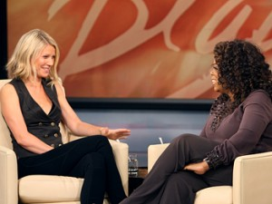 Gwyenth Paltrow and Oprah Winfrey